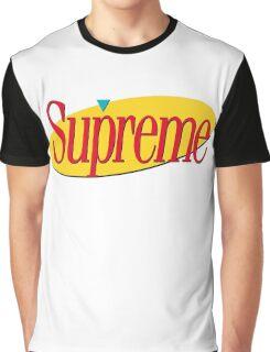 Supreme Seinfeld Collab Graphic T-Shirt