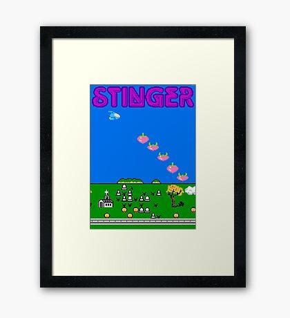 Stinger (NES) Framed Print