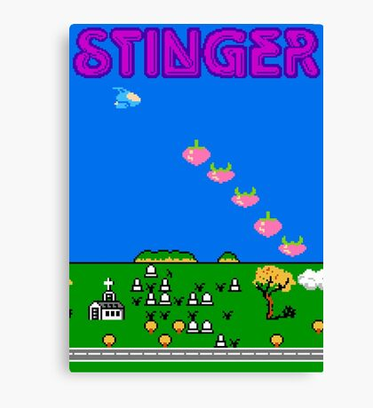 Stinger (NES) Canvas Print