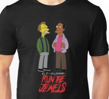 Run The Jewels Lenny and Carl Parody Unisex T-Shirt