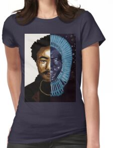 Awaken Gambino Womens Fitted T-Shirt