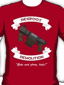 Degroot Demolition 2 RED T-Shirt
