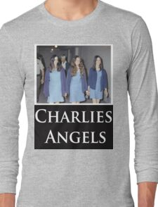 Charlies Angles Parody- Charles Manson Long Sleeve T-Shirt