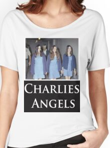 Charlies Angles Parody- Charles Manson Women's Relaxed Fit T-Shirt