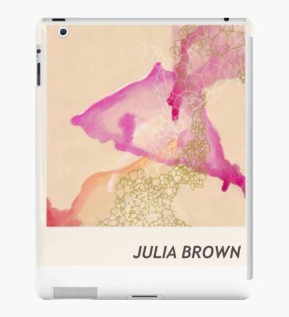 Julia Brown Watercolor  iPad Case/Skin