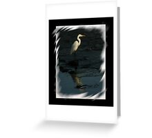 OG Heron Greeting Card