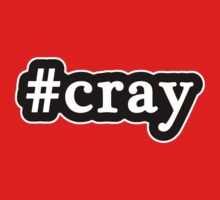 Cray - Hashtag - Black & White by graphix