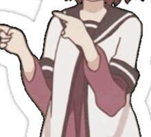 Akarin Dancing Yuru Yuri  Sticker