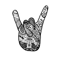 Rock On! Zentangle Photographic Print