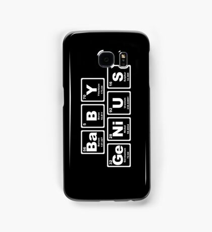 Baby Genius - Periodic Table Samsung Galaxy Case/Skin