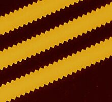Adidas Brown Stripe  by goldentouch