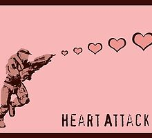 Master Chief Heart Attack - Halo by CanisPicta