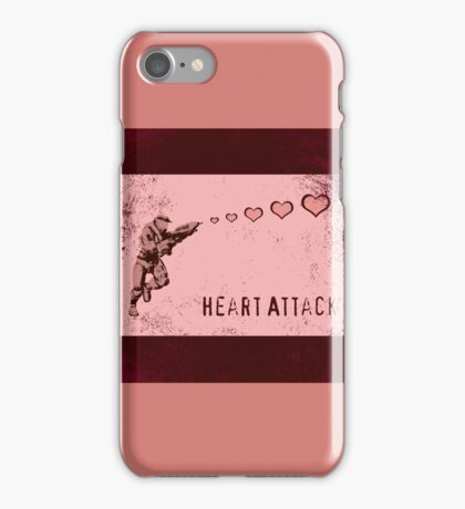 Master Chief Heart Attack iPhone Case/Skin