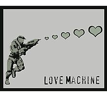 Master Chief Love Machine - Halo  Photographic Print