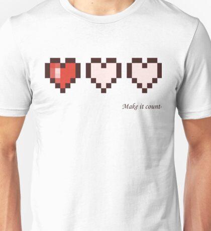 Make it count Unisex T-Shirt