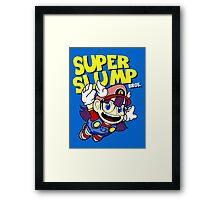 Super Slump Bros Framed Print