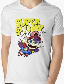 Super Slump Bros Mens V-Neck T-Shirt