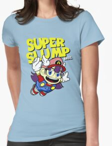 Super Slump Bros Womens Fitted T-Shirt
