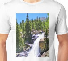 AWESOME ROCKY MOUNTAIN NATIONAL PARK WATERFALL Unisex T-Shirt