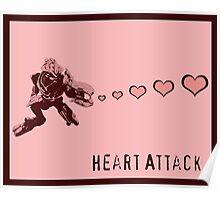 Sangheili Officer Heart Attack  Poster