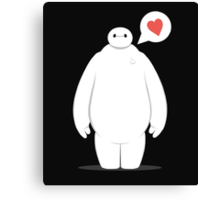Baymax is Bae. Canvas Print