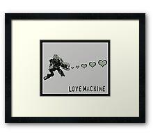 Sangheili Officer Love Machine Framed Print
