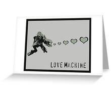 Sangheili Officer Love Machine Greeting Card