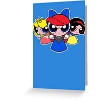 Princess Puff Girls 2 Greeting Card