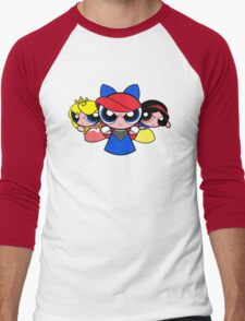Princess Puff Girls 2 Men's Baseball ¾ T-Shirt