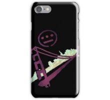 Stencil Golden Gate San Francisco Outline iPhone Case/Skin