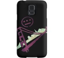 Stencil Golden Gate San Francisco Outline Samsung Galaxy Case/Skin