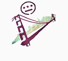 Stencil Golden Gate San Francisco Outline Unisex T-Shirt