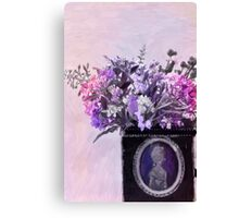 Wild Flower Bouquet - Digital Pastel Canvas Print