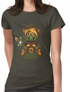 Faces of the Hero - Deku Womens Fitted T-Shirt