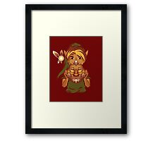 Faces of the Hero - Goron Framed Print