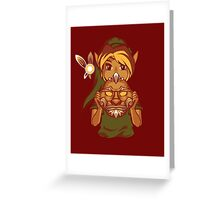 Faces of the Hero - Goron Greeting Card