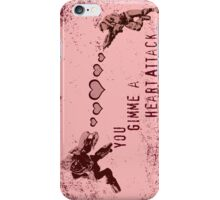 You Gimme a Heart Attack - Halo  iPhone Case/Skin