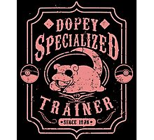 Dopey Specialized Trainer Photographic Print