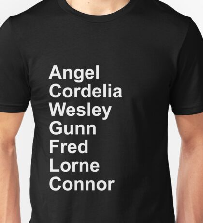 Angel Cast Unisex T-Shirt
