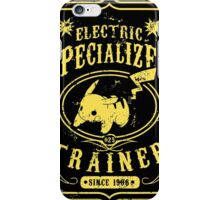 Electric Specialized Trainer II iPhone Case/Skin