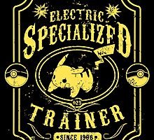 Electric Specialized Trainer II by tiranocyrus