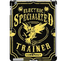 Electric Specialized Trainer iPad Case/Skin
