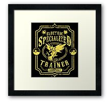 Electric Specialized Trainer Framed Print