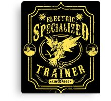 Electric Specialized Trainer Canvas Print