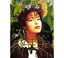 Selena Kahlo Photographic Print