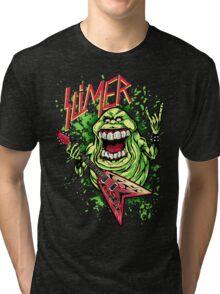 SLIMER THRASHIN' MAD!!! Tri-blend T-Shirt