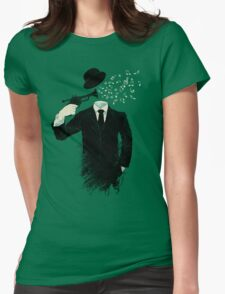 Blown Womens Fitted T-Shirt