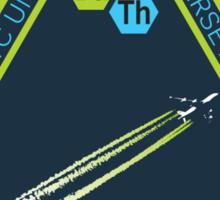 Chemtrail Dispersion Team Sticker