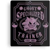 Ghost Specialized Trainer Metal Print