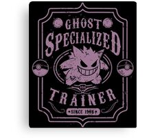 Ghost Specialized Trainer Canvas Print